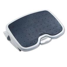 Kensington® SoleMate Plus Adjustable Footrest w/SmartFit System - 21w x 14d - Gray