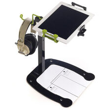 Dewey the Document Camera Stand with 90 Degree Rotation Mount and Headphone Holder - 10.75''W x 15''D x 12.75-23''H