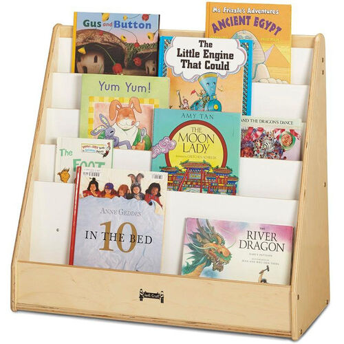 Our Flushback Pick-A-Book Stand is on sale now.