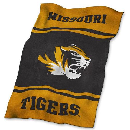 University of Missouri Team Logo Ultra Soft Blanket