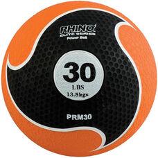 30 lbs. Rhino Elite Medicine Ball in Orange