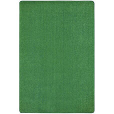 Kid Essentials Just Kidding Polyester Rug with Actionbac Backing - Grass Green - 48