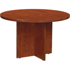 OSP Furniture Napa Round Conference Table - Cherry