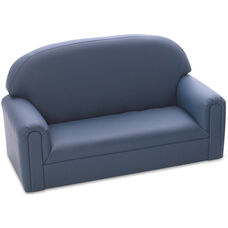 Just Like Home Enviro-Child Toddler Size Sofa - Blue - 34
