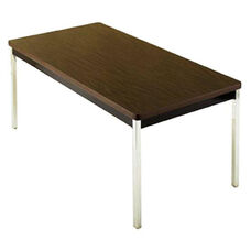 Customizable Multi Purpose Regency Fixed Height Non Folding Table with Chrome Legs - 30