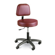 Gas Lift Stool With Back
