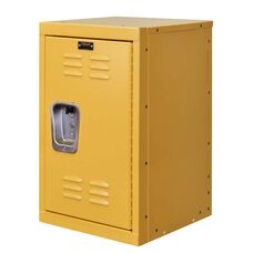Trophy Yellow Kids Mini Locker - Unassembled - 15