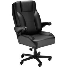 Chief Contoured Seat Office Chair with Padded Headrest- Fabric