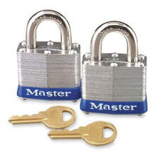 Master Lock Company High Security Padlocks - Silver