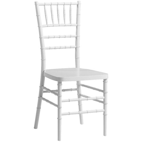 Our 1000 lb. MAX White Resin Steel Core Chiavari Chair is on sale now.