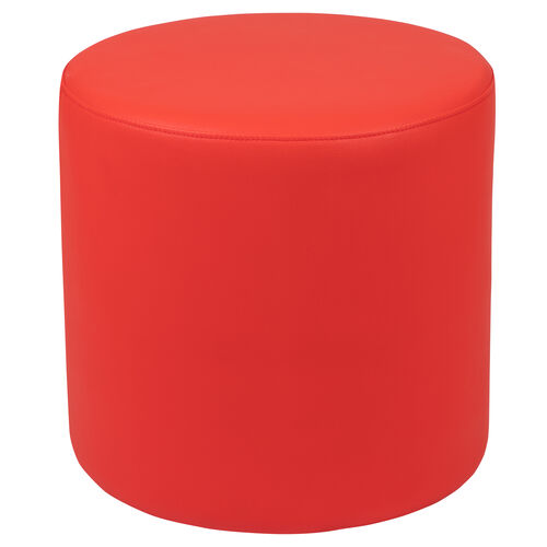 """Our Soft Seating Collaborative Circle for Classrooms and Common Spaces - 18"""" Seat Height (Red) is on sale now."""