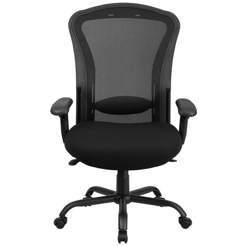 Our Basics Ergonomic 24/7 Intensive Use Big & Tall 400 lb. Rated Mesh Multifunction Synchro-Tilt Office Chair, Black is on sale now.