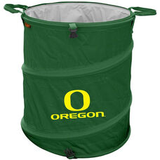 University of Oregon Team Logo Collapsible 3-in-1 Cooler Hamper Wastebasket