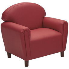 Just Like Home Enviro-Child School Age Chair - Deep Red - 29