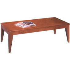 Quick Ship 6700 Series Cocktail Table with Wood Veneer Top