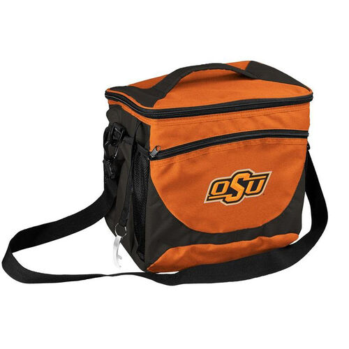 Our Oklahoma State University Team Logo 24 Can Cooler is on sale now.