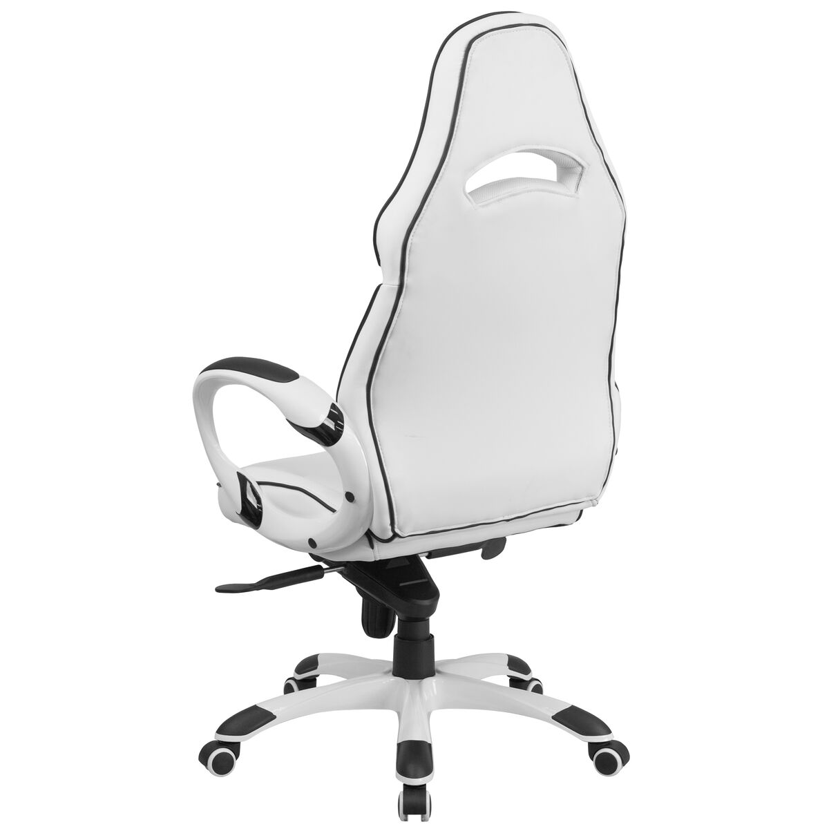 white vinyl office chair. Images. High Back White Vinyl Executive Swivel Chair Office W
