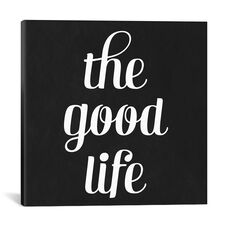 Modern Art- The Good Life by 5by5collective Gallery Wrapped Canvas Artwork