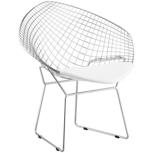 Our Net Chair with White Cushion is on sale now.