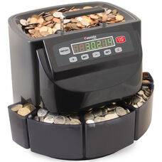 C200 Business-Grade Electronic Coin Sorter, Counter, and Wrapper - 300 Coins/Minute
