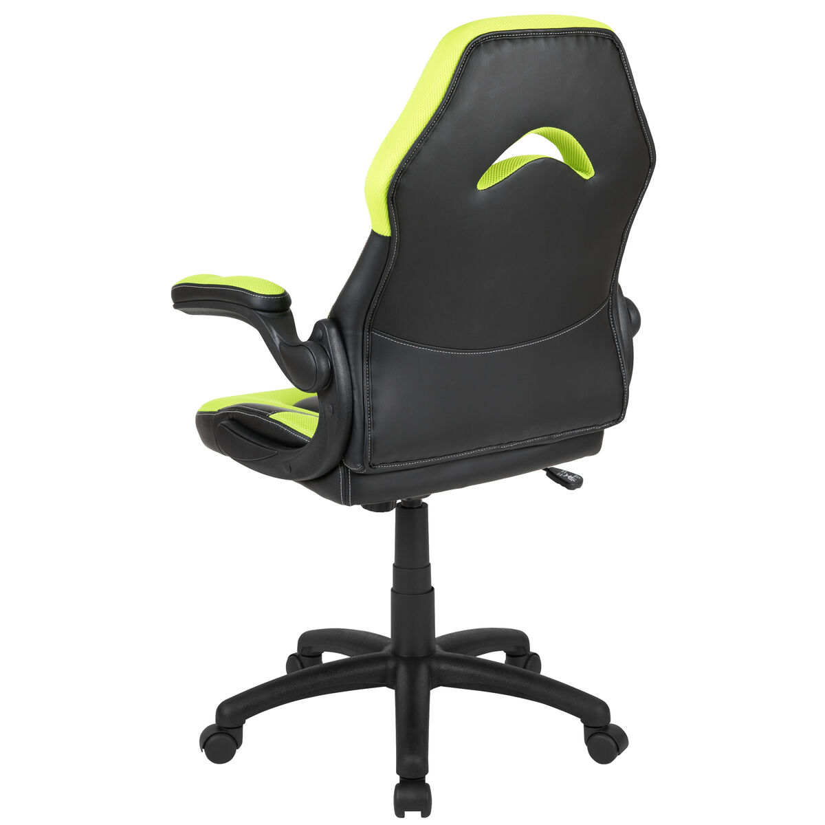 Wondrous X10 Gaming Chair Racing Office Ergonomic Computer Pc Adjustable Swivel Chair With Flip Up Arms Neon Green Black Leathersoft Ocoug Best Dining Table And Chair Ideas Images Ocougorg