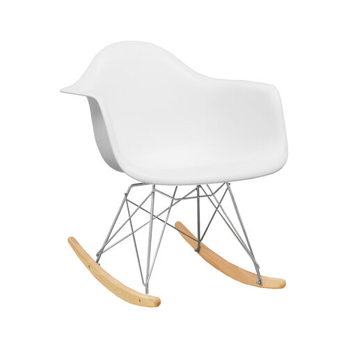 Our Paris Tower Rocking Chair with White Seat is on sale now.
