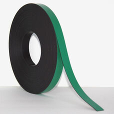 .375''H x 50'L Colored Magnetic Strips - Green