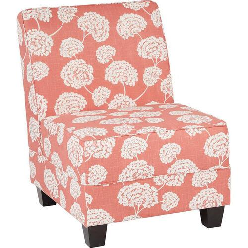 Ave Six Milan Armless Lounge Chair MIL51N-R5 | Bizchair.com