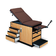 4-Position Examination Table With Adjustable Stirrups