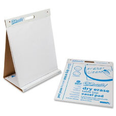 Pacon Gowrite! Clean Erase Table Top Easel Pad - Pack Of 4