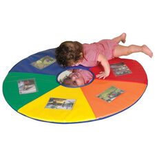 SoftZone® Circular Picture Me Play Mat with Center Mirror - 4