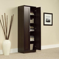 HomePlus 71.125''H Storage Cabinet with Adjustable Shelves - Dakota Oak