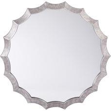 OSP Designs Wesley Beveled Mirror - Silver