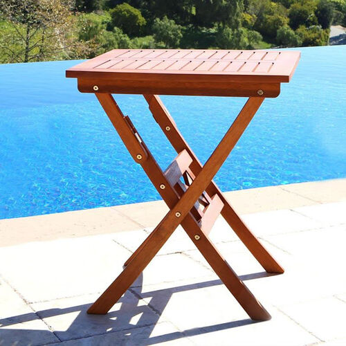 Our Malibu Outdoor Wood Square Folding Bistro Table is on sale now.