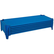 Set of Five Heavy Duty Standard Size Cot with Removable and Washable Fabric - Assembled - 53