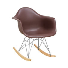 Paris Tower Rocking Chair with Chocolate Seat