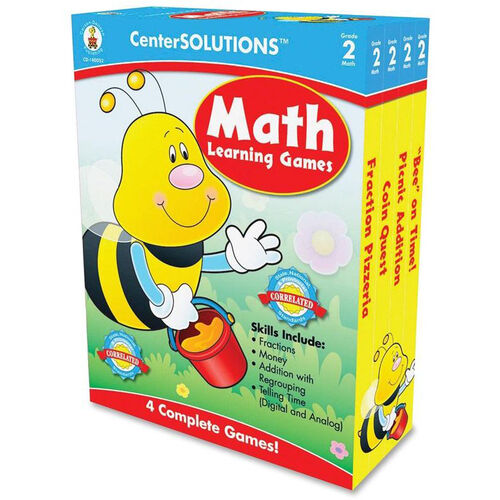 Our Carson-Dellosa Publishing Grade 2 Math Learning Games is on sale now.