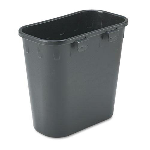 Our Safco® Paper Pitch Recycling Bin - Rectangular - Polyethylene - 1 3/4 gal - Black is on sale now.