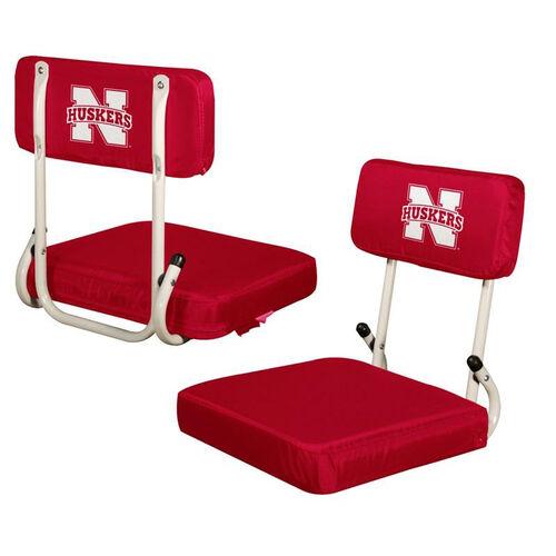 Our University of Nebraska Team Logo Hard Back Stadium Seat is on sale now.