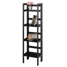 4-Tier Folding Bookcase