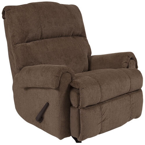 Our Contemporary Rocker Recliner with Rolled Arms is on sale now.
