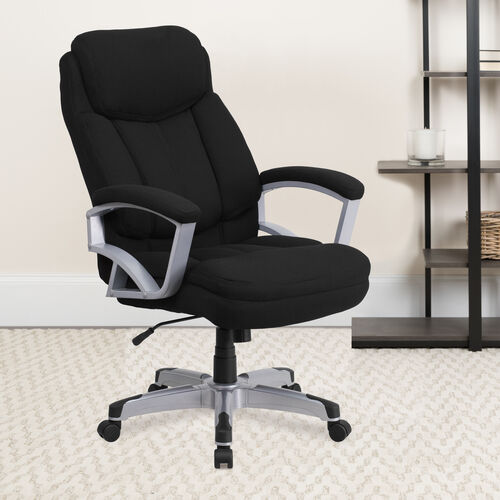 HERCULES Series Big & Tall 500 lb. Rated Executive Swivel Ergonomic Office Chair with Arms