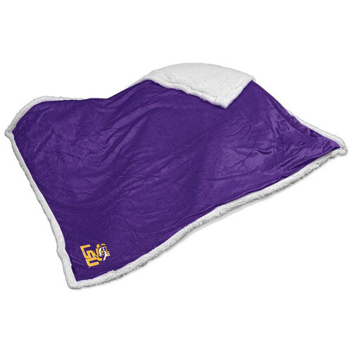 Our Louisiana State University Team Logo Sherpa Throw is on sale now.
