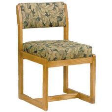 117 Desk Chair w/ Upholstered Back & Seat - Grade 2