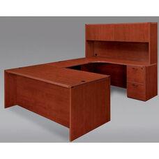Fairplex Right U Desk with Corner Credenza