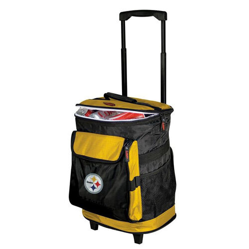 Our Pittsburgh Steelers Team Logo Rolling Cooler is on sale now.