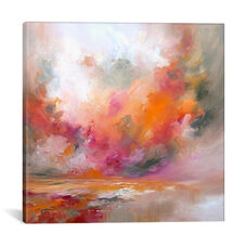 Colour Burst by J.A Art Gallery Wrapped Canvas Artwork