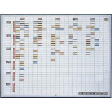 36''H x 48''W Magnetic Work and Plan Kit