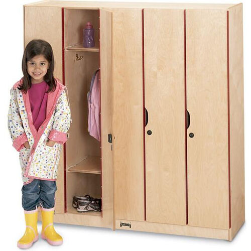 Lockers with Doors - 5 Sections