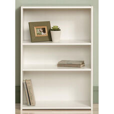 Beginnings 35.25''H Bookcase with Adjustable Shelves - Soft White